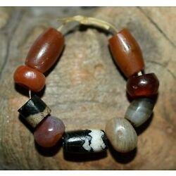 Kyпить Ancient Agate Stone Excavated Djenne Dig Beads Mali African Trade 1000 Years Old на еВаy.соm