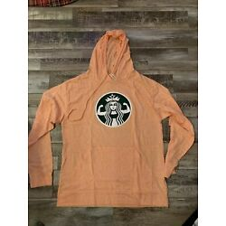 Tough Cookie Womens Lightweight Hoodie Size M W/ Muscle Girl Coffee Shop Print