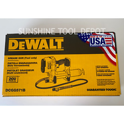 Kyпить Dewalt DCGG571B 20V MAX Grease Gun (Tool Only) на еВаy.соm