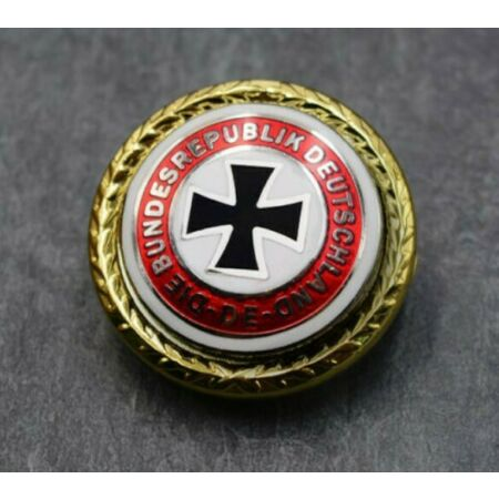 img-WWII German Army Iron Cross Badge Cap Pin Military Collection Patriotic Souvenir
