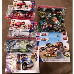 Kyпить 4 Mega Bloks Jeep Wrangler Sets 97804 97806 97803 with Manuals на еВаy.соm
