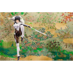 Anime Fate/Grand Order Qin Liang Yu Unpainted GK Models Resin Kits Action Figure