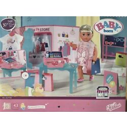 BABY BORN POP UP STORE DOLLS BOUTIQUE SHOP CLOTHES TILL BABY ZAPF CREATIONS NEW