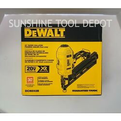Kyпить DeWalt DCN692B 20V MAX Cordless 30° Paper Collated Framing Nailer на еВаy.соm