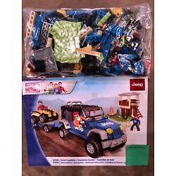 Kyпить Mega Bloks Jeep Wrangler ATV Set Forest Expedition 97806 97834 w/ Manual на еВаy.соm