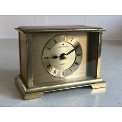 Kyпить Junghans Quartz Mantel Clock - Brass - West German (Vintage) на еВаy.соm