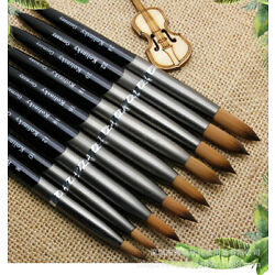 Kyпить Acrylic Kolinsky Nail Brushes Sizes 8-24 Nail Art Brush SHIPS FROM USA на еВаy.соm