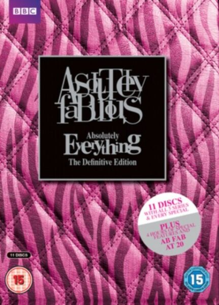 GroßbritannienNeu Absolutely Fabulous - Absolutely Alles - Die  Edition DVD