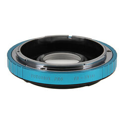 Fotodiox PRO Lens Adapter Canon FD Lens to Sony A-Mount (MAF) Camera