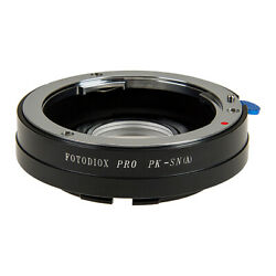 Fotodiox PRO Lens Adapter Pentax K Lens to Sony A-Mount (MAF) Camera