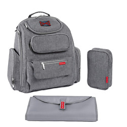 Kyпить Diaper Bag Backpack by Bag Nation   Large Capacity Unisex Baby Bag with Stroller на еВаy.соm