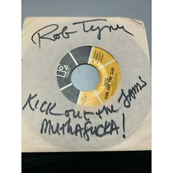 Kyпить MC5 signed Kick Out The Jams single Rob Tyner rare with cool first line на еВаy.соm