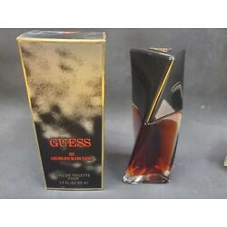 Guess by Georges Marciano EDP  Women 1.7oz/50ml *TWIST BOTTLE*  CLASSIC VINTAGE