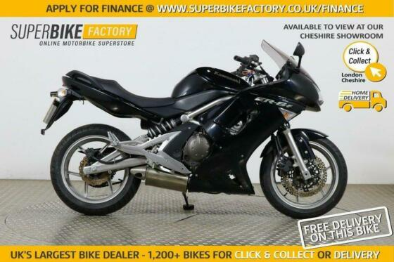 2008 08 KAWASAKI ER-6F EX - A8F - BUY ONLINE 24 HOURS A DAY