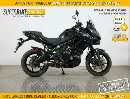 2016 66 KAWASAKI VERSYS 650 FGF ABS - BUY ONLINE 24 HOURS A DAY