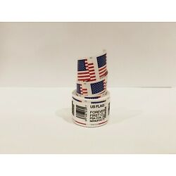 Kyпить 1 Roll of 100 USPS US Flag 2018 Forever Stamps with FREE SHIPPING на еВаy.соm