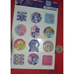 MY LITTLE PONY 3 D STICKERS BY HASBRO 12 3D STICKERS ON SHEET