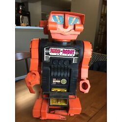 Kyпить Vintage Rudy the Robot Plastic Battery Operated Toy Remco 1970 NEEDS CLEANING на еВаy.соm