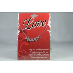 'Love' By DMM Childs Necklace With Pendant #JFY-NEK NEW In Package
