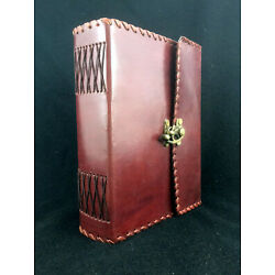 Kyпить Large Handmade Leather Journal Diary Sketchbook - 400 Pages Unlined 150gsm Paper на еВаy.соm
