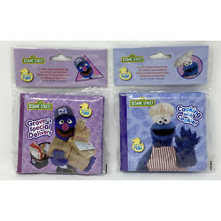Kyпить 2 Sesame Street Bath Time Bubble Soft Book Waterproof For Infants & Toddlers на еВаy.соm