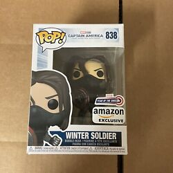 Kyпить Funko Pop! Marvel: The Winter Soldier Year of the Shield Amazon Pre Order на еВаy.соm