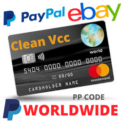 Kyпить Fresh Mastercard Vcc For Paypal Verification Works Worldwide Fast Deleviry???? Vcc на еВаy.соm