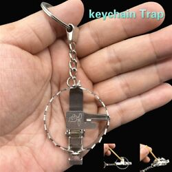 Kyпить Stainless steel creative keychain  mini bear trap toy key chain  keyring gifts на еВаy.соm