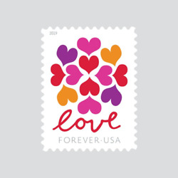 Kyпить USPS Forever Stamp Love Blossom 100 Stamps (5 Sheets of 20) на еВаy.соm