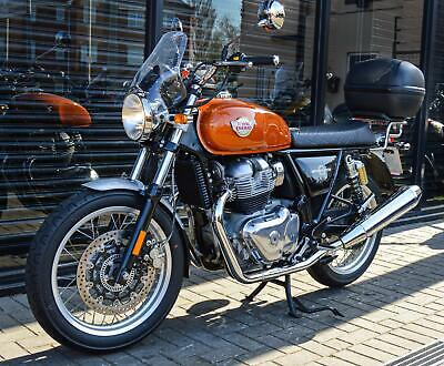 * SOLD * 2019 ROYAL ENFIELD INTERCEPTOR INT 650 * ONLY 520 MILES COVERED
