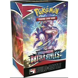 Kyпить  Pokémon TCG Sword & Shield Battle Styles Build & Battle Box SEALED на еВаy.соm