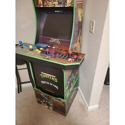 Kyпить Arcade1Up Teenage Mutant Ninja Turtles Arcade Cabinet Machine with Riser на еВаy.соm