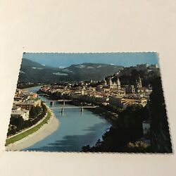 Kyпить Salzburg with the Salzach River Postcard на еВаy.соm