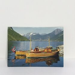 Kyпить Norway View of Norangsfjorden Postcard на еВаy.соm