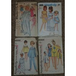 Kyпить Vintage 1960's Butterick & Simplicity Girls Sewing Patterns на еВаy.соm
