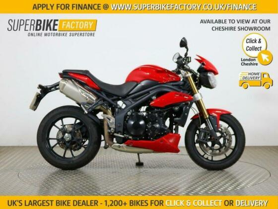 2013 13 TRIUMPH SPEED TRIPLE 1050 R ABS - BUY ONLINE 24 HOURS A DAY