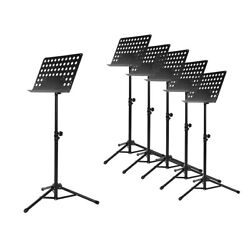 Kyпить Musician's Gear Perforated Tripod Orchestral Music Stand, Black - 6 Pack на еВаy.соm