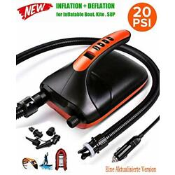 Kyпить ROC 20PSI Electric Air Pump 12V for Inflatables Boat, Stand Up Paddle Board на еВаy.соm