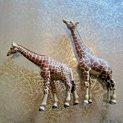 Kyпить 2 x Schleich Germany & China Giraffe Plastic Animal Model/Figurine (Retired)  на еВаy.соm
