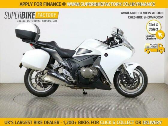 2012 62 HONDA VFR1200F F-A - BUY ONLINE 24 HOURS A DAY
