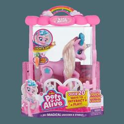 Kyпить Pets Alive My Magical Unicorn Pink in Stable Electronic Pet W/ Lights & Sound на еВаy.соm