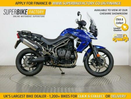 2018 18 TRIUMPH TIGER 800 XRX - BUY ONLINE 24 HOURS A DAY