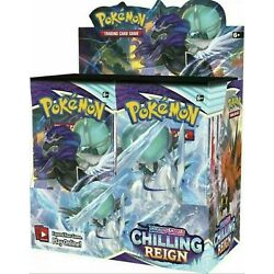 Kyпить Pokemon Chilling Reign Booster Box 36 Pack FACTORY SEALED NEW на еВаy.соm