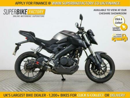2015 64 YAMAHA MT-125 ABS - BUY ONLINE 24 HOURS A DAY