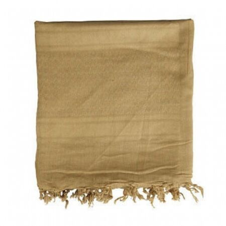 img-NEW - British Army / Military Desert Sand Shemagh Head Scarf ( Coyote Tan