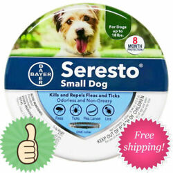 Kyпить New For Small Dogs Up to 18lbs Bayer Seresto Flea and Tick Collar на еВаy.соm