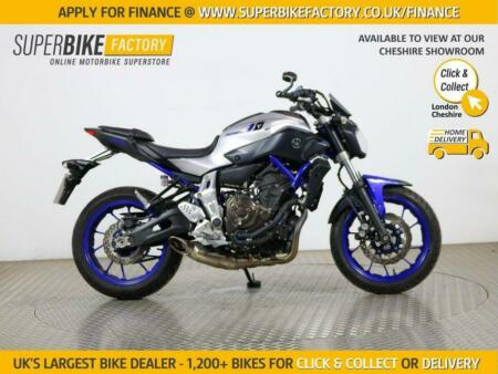 2016 16 YAMAHA MT-07 ABS - BUY ONLINE 24 HOURS A DAY