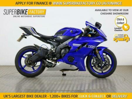 2017 17 YAMAHA R6 YZF - BUY ONLINE 24 HOURS A DAY