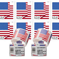 Kyпить 200PCS USPS 2018 US Flag Forever Postage Stamps 2 Rolls of 100 Stamps Fast Ship на еВаy.соm