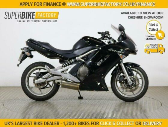 2008 57 KAWASAKI ER-6F B8F ABS - BUY ONLINE 24 HOURS A DAY